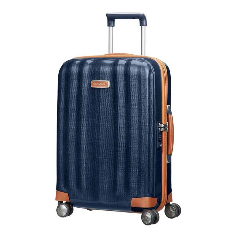 Samsonite Kuffert Lite Cube DLX M. blå 1