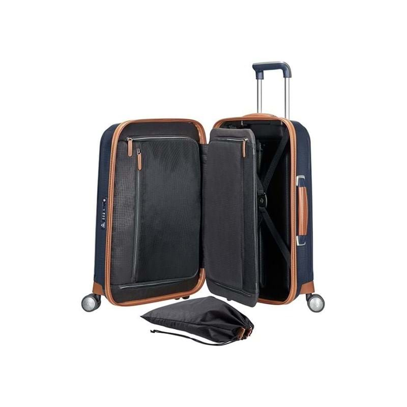 Samsonite Kuffert Lite Cube DLX M. blå 3