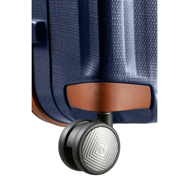 Samsonite Kuffert Lite Cube DLX M. blå 4