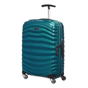 Samsonite Kuffert Lite Shock 55 Cm Blå