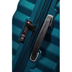 Samsonite Kuffert Lite Shock Blå Grå 2