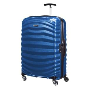 Samsonite Kuffert Lite Shock 69 Cm Blå