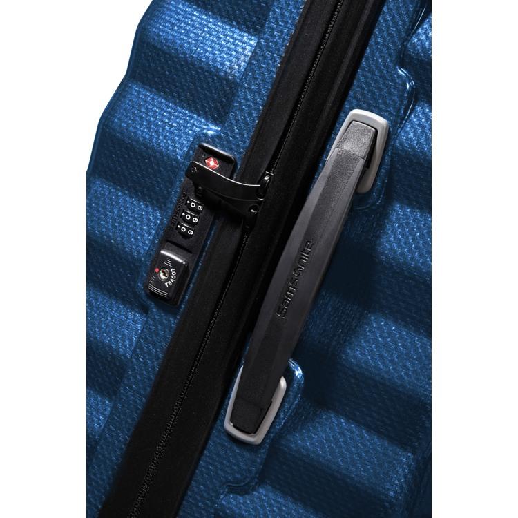 Samsonite Kuffert Lite Shock Blå 3
