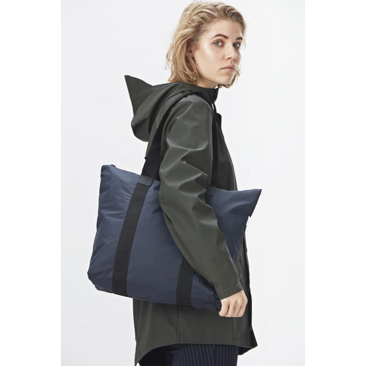 Rains Shopper Tote Bag Rush Blå 3