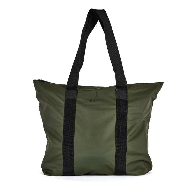 Rains Shopper Tote Bag Rush Grøn 1