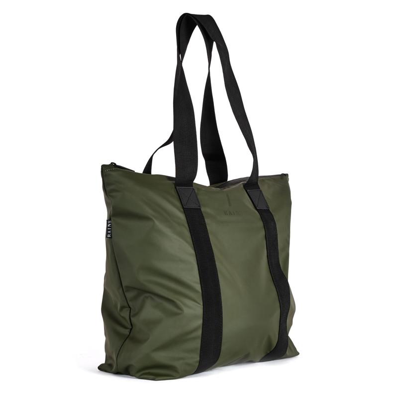 Rains Shopper Tote Bag Rush Grøn 2