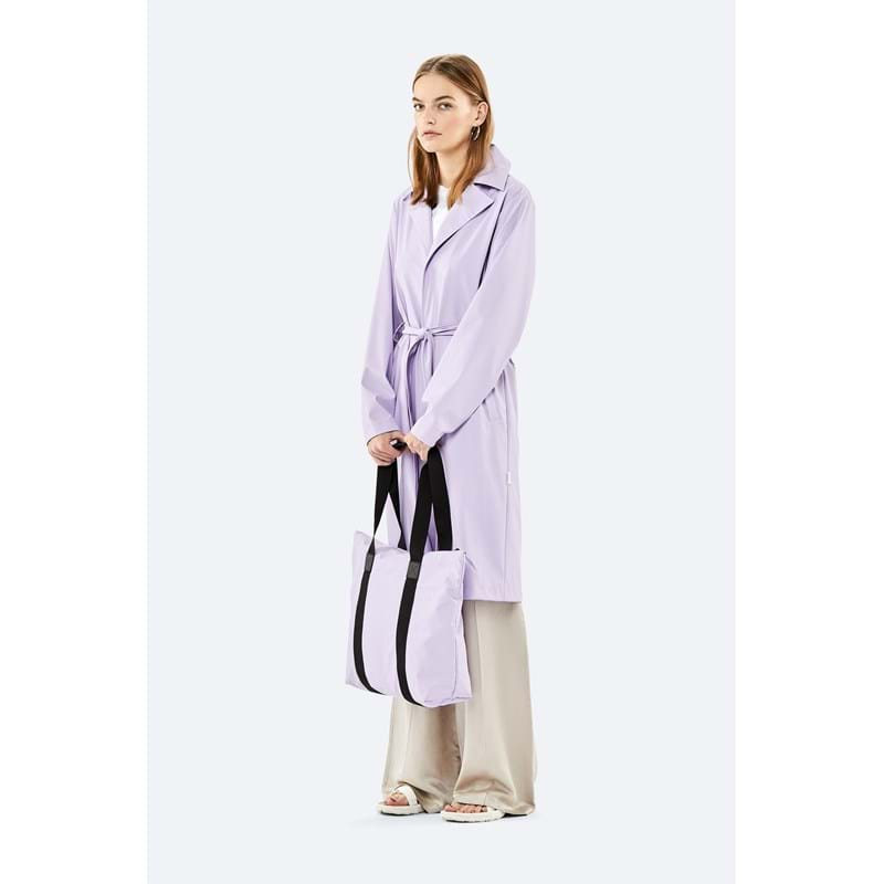 Rains Shopper Tote Bag Rush Lavendel 3