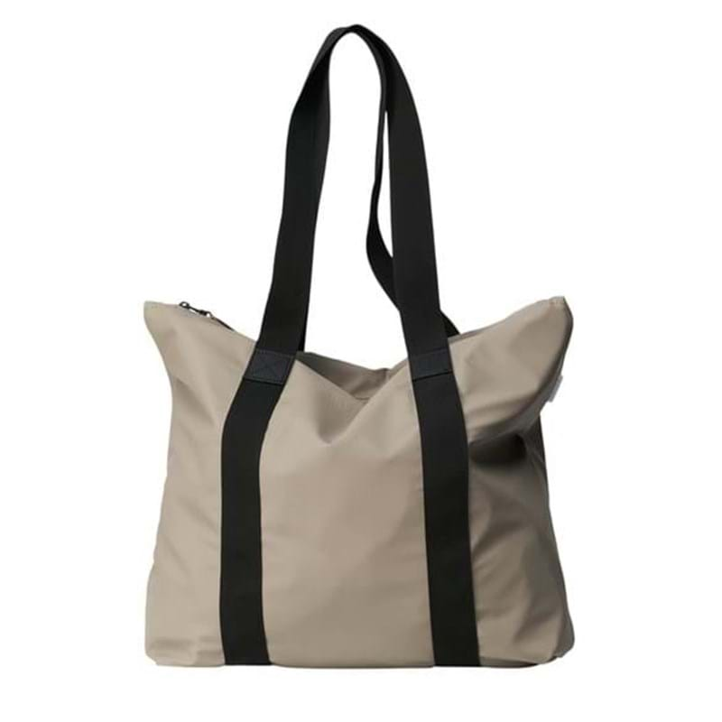 Rains Shopper Tote Bag Rush Taupe 1