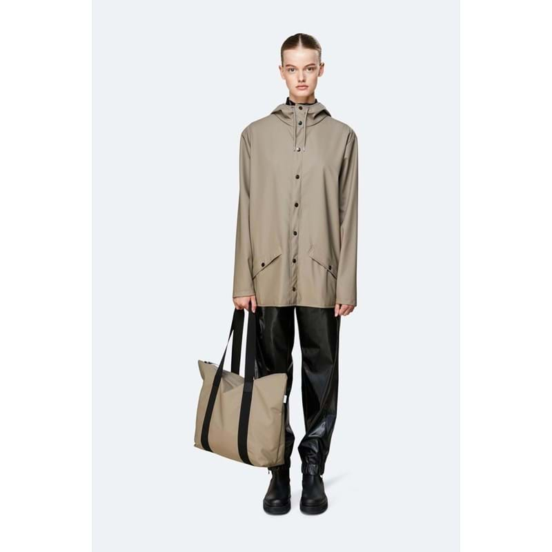 Rains Shopper Tote Bag Rush Taupe 4