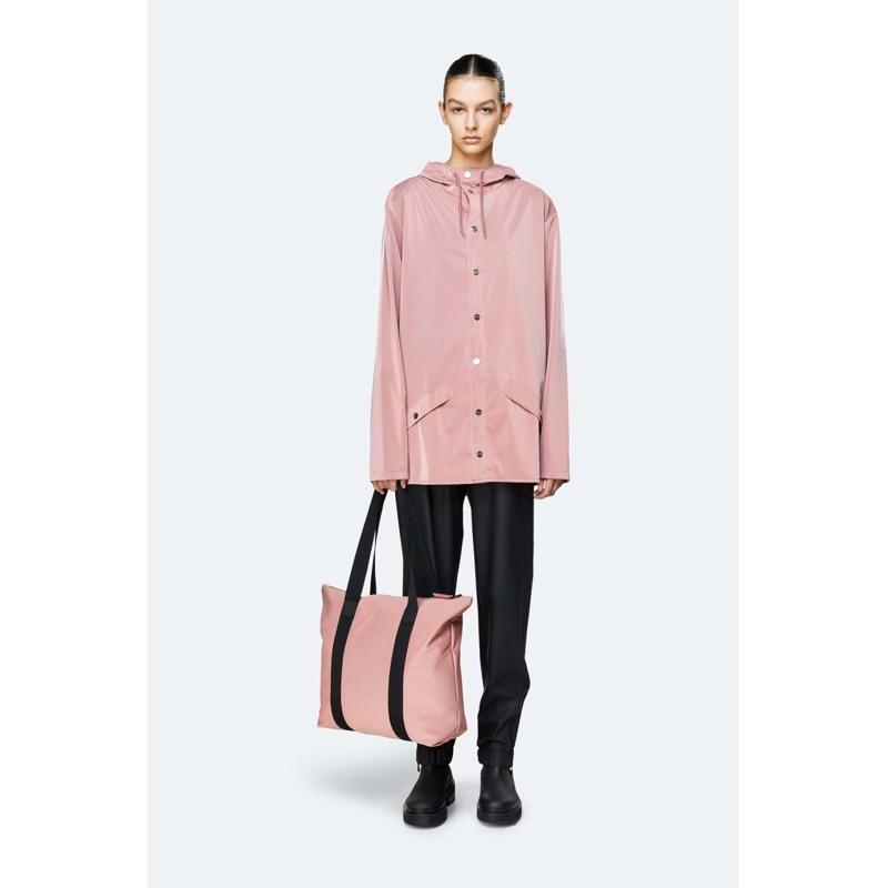 Rains Shopper Tote Bag Rush Fersken 3