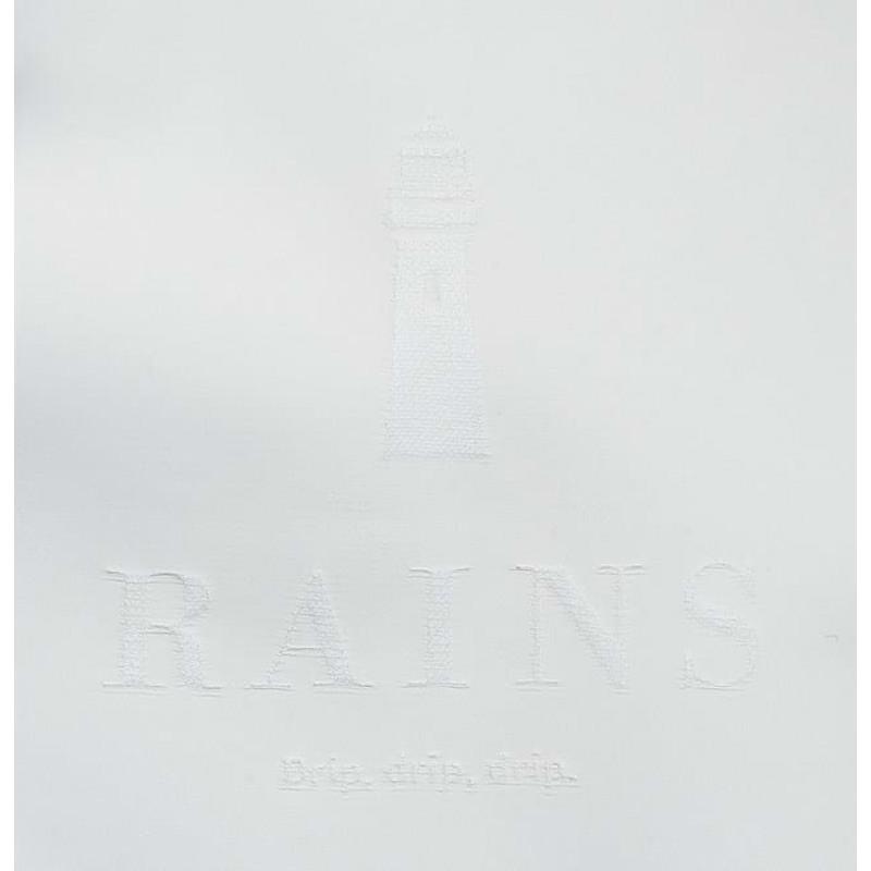 Rains Shopper Tote Bag Rush Off Hvid 2
