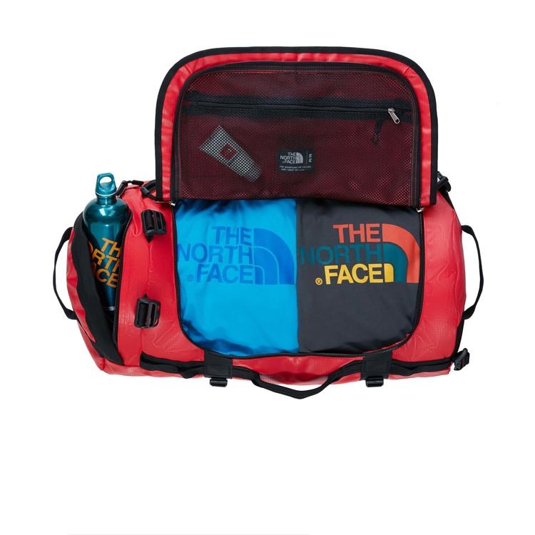 The North Face Duffel Bag Base Camp M Sort/Rød 3
