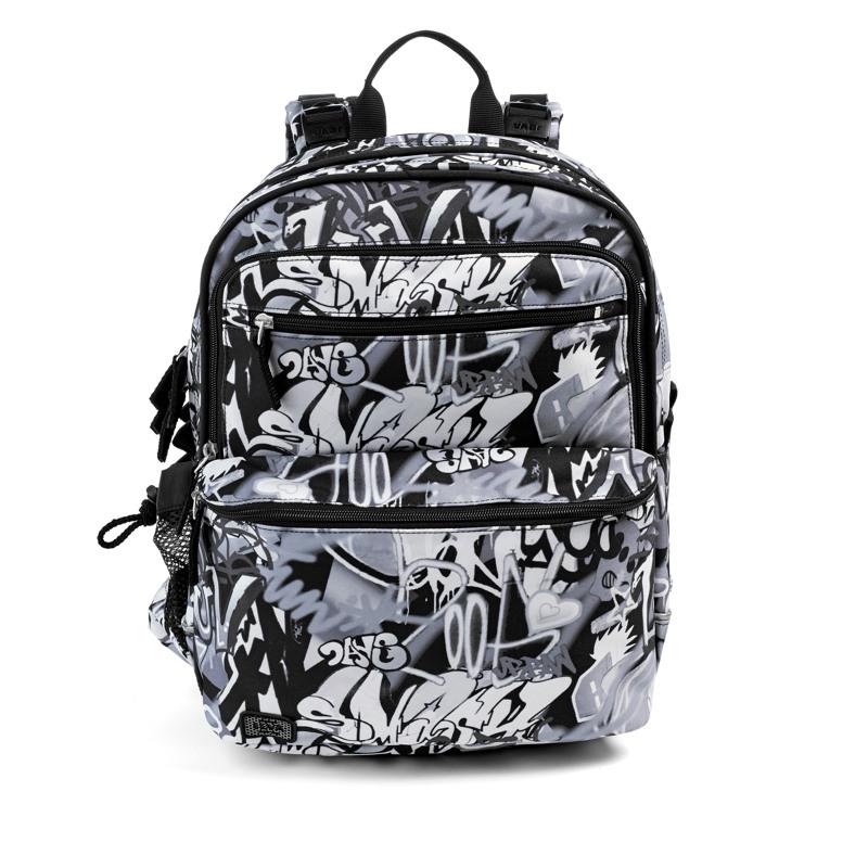 JEVA Rygsæk Backpack'it Sort/Hvid 1