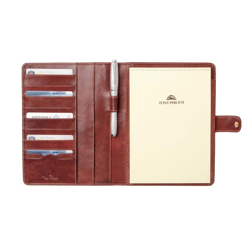 Tony Perotti Notepad A5 Brun 2