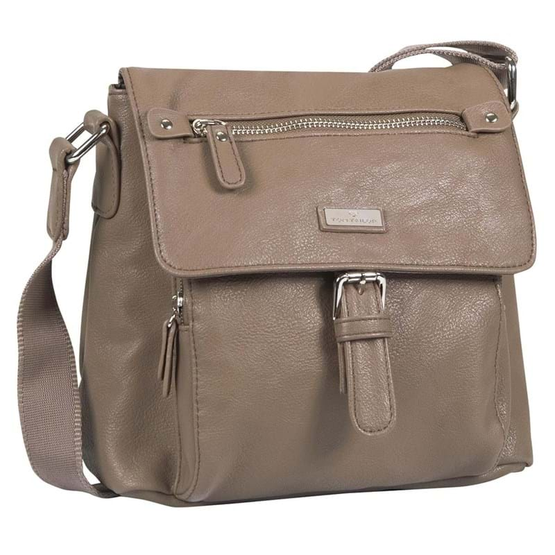 Håndtaske-Rina Taupe 1