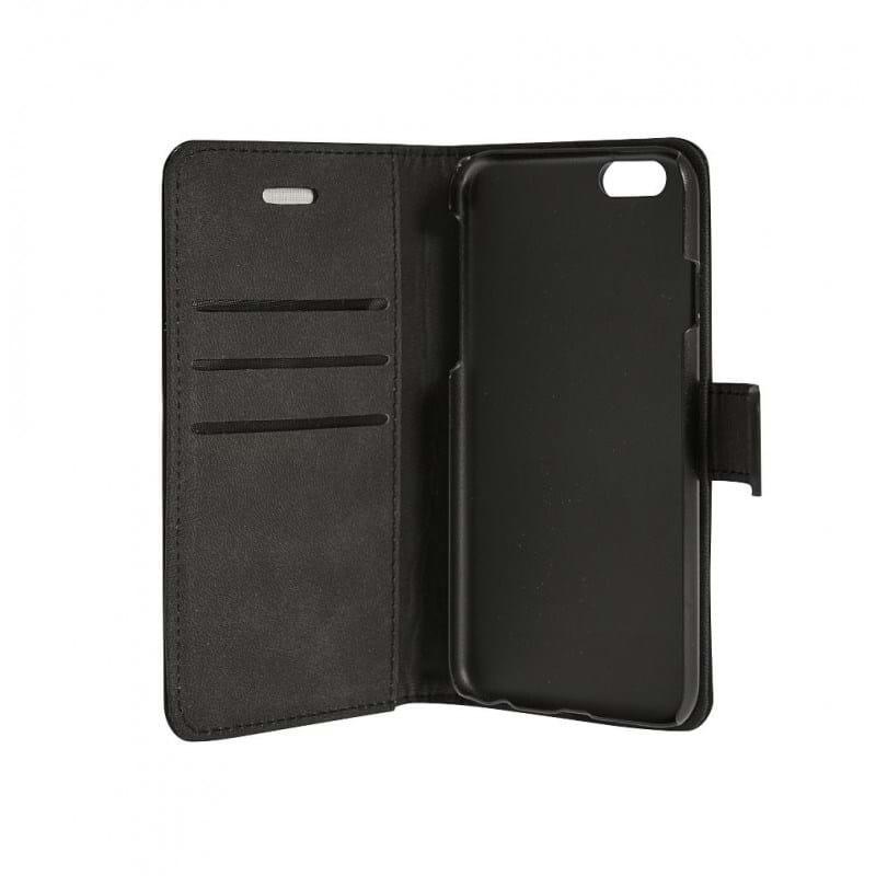 Mobilcover læder Iphone 6 Sort 1