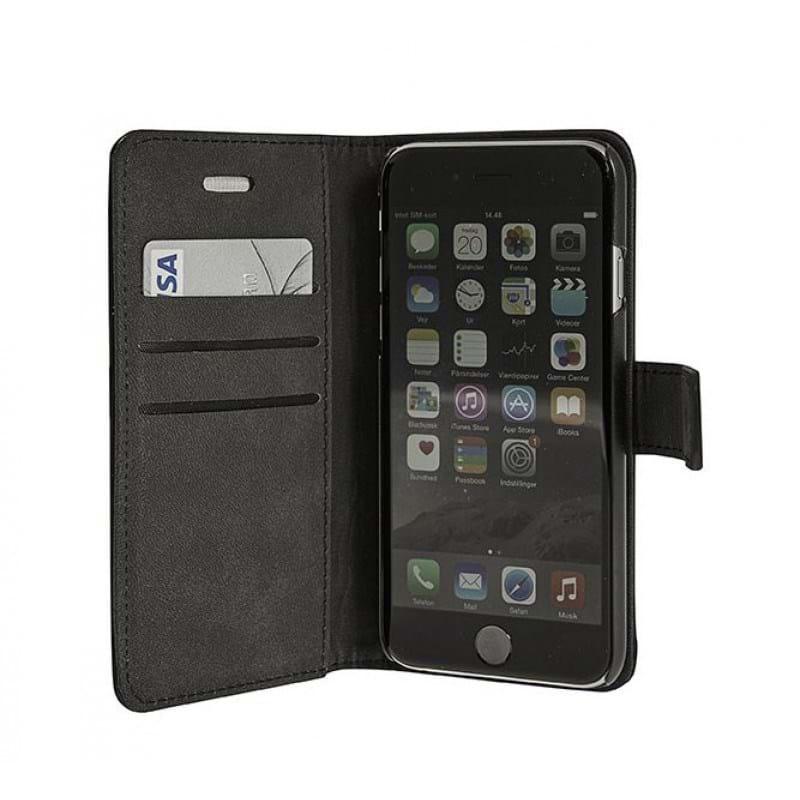 Mobilcover læder Iphone 6 Sort 2