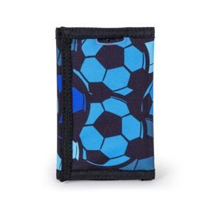 JEVA Pung Velcro Football Mania Blå