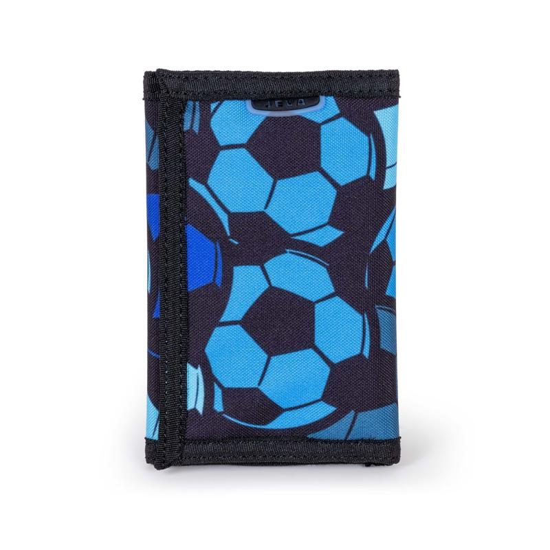 JEVA Pung Velcro Football Mania Blå 1