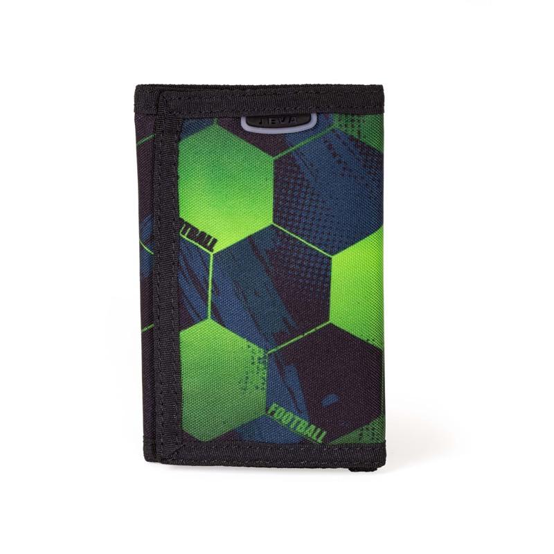 JEVA Pung Velcro Football Grøn mønster 1