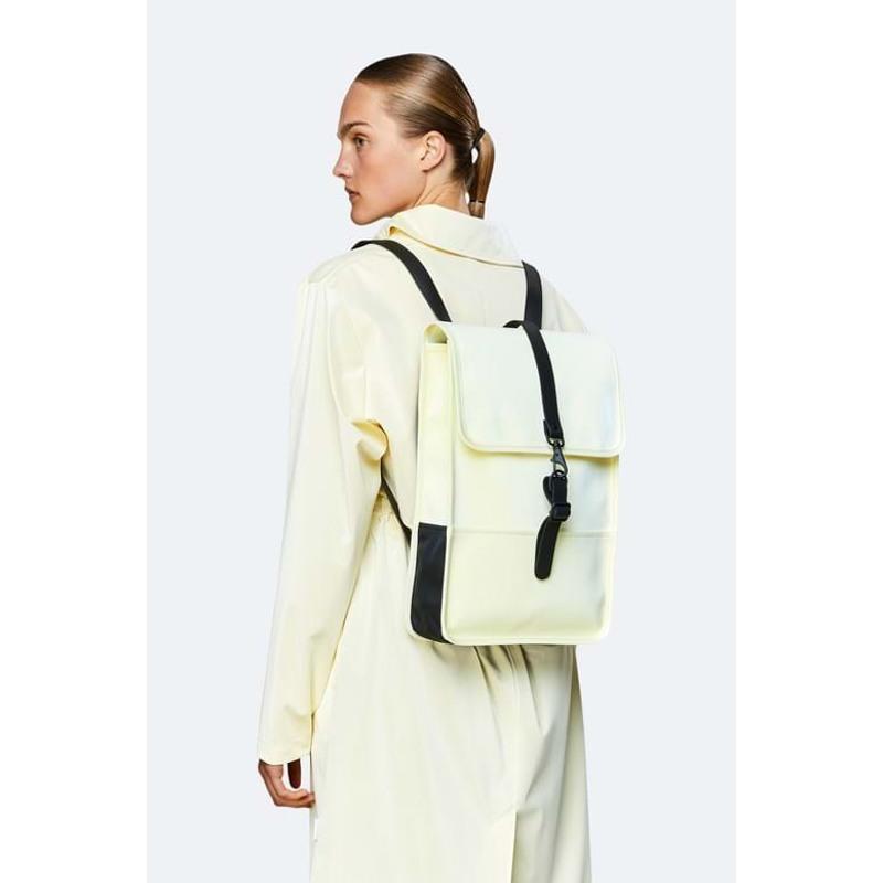Rains Rygsæk Backpack Mini Creme 4