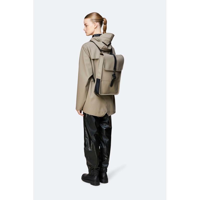 Rains Rygsæk Backpack Mini Grøn/Taupe 5