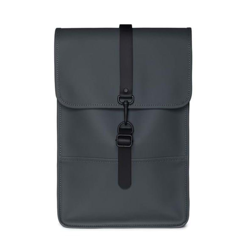 Rains Rygsæk Backpack Mini Dyb koks grå 1