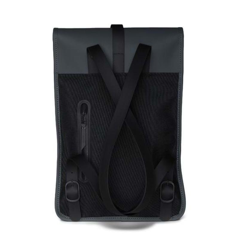 Rains Rygsæk Backpack Mini Dyb koks grå 2