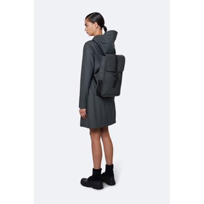 Rains Rygsæk Backpack Mini Dyb koks grå 4