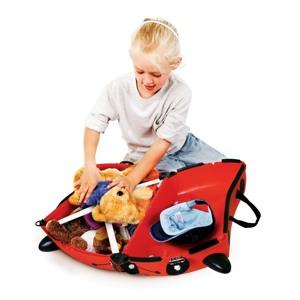 Trunki Børnekuffert med hjul Harley Rød 1