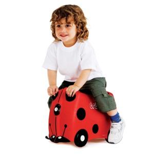 Trunki Børnekuffert med hjul Harley Rød 2