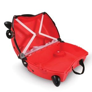 Trunki Børnekuffert med hjul Harley Rød 3
