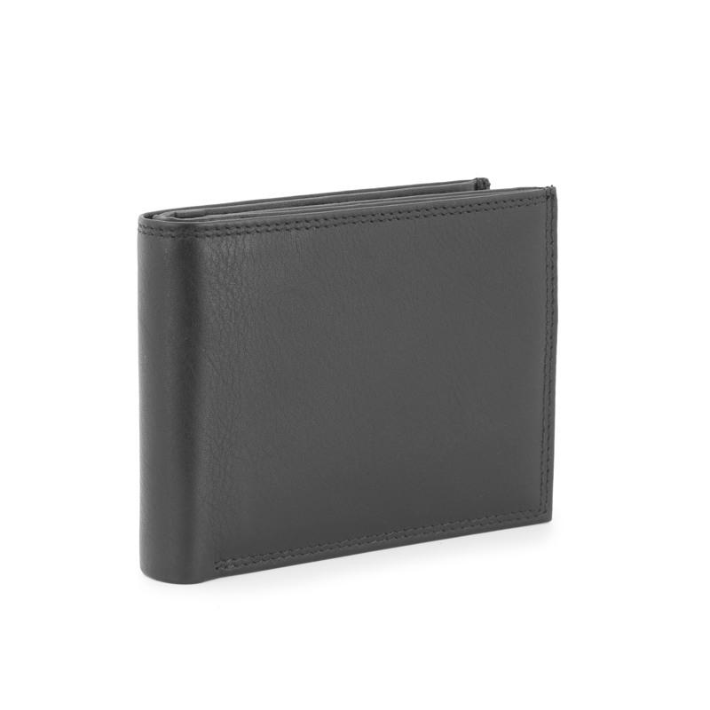 Pia Ries Dollar m/9 kort -klap+mønt Sort 2