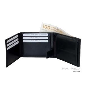Pia Ries Dollar m/9 kort -klap+mønt Sort alt image