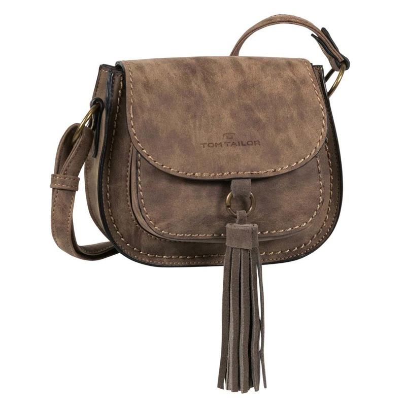 Håndtaske-Karla Cross- S Taupe 1