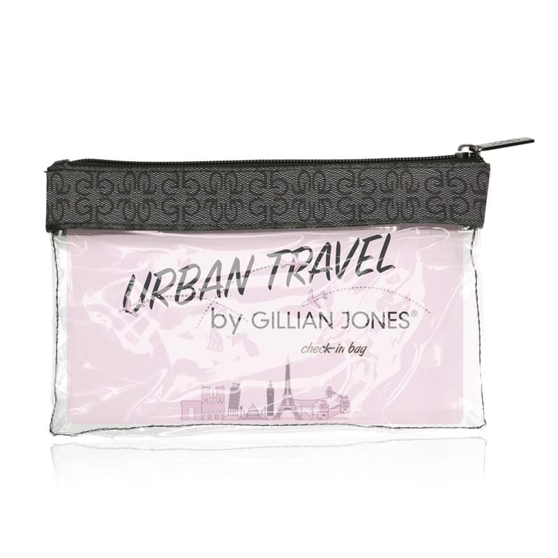 Gillian Jones Check in bag Transparent 1