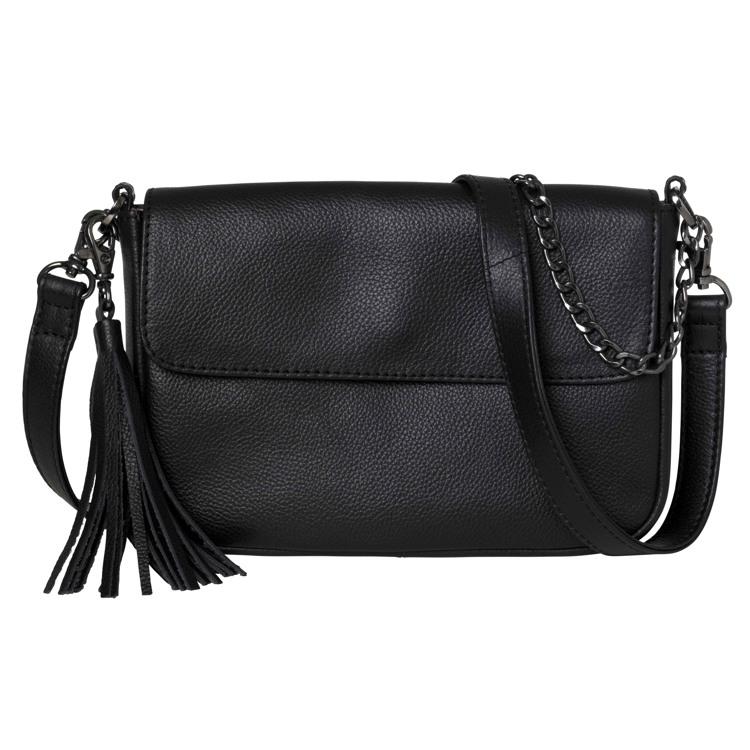 Aura Håndtaske med kæderem Sort 1