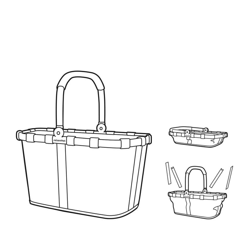 Reisenthel Indkøbskurv Carrybag Sort/prikker 6
