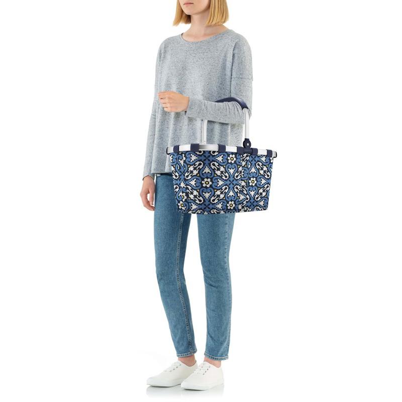 Reisenthel Indkøbskurv carrybag Blå/mønster 6