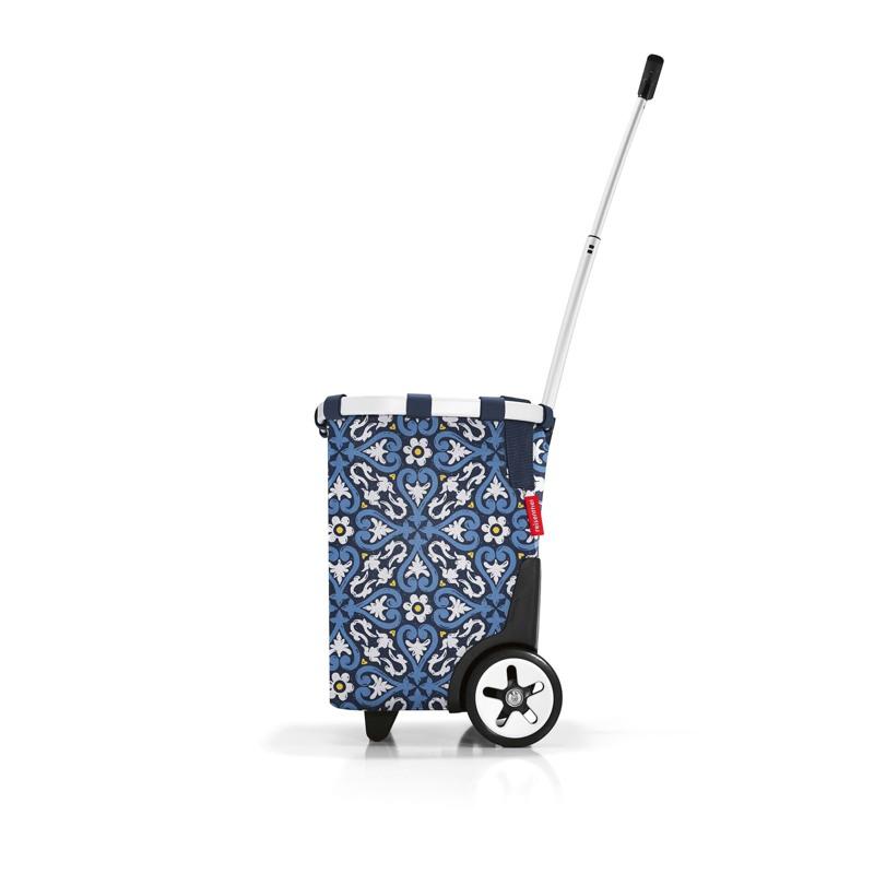 Reisenthel Indkøbsvogn Carry Cruiser Blå/mønster 2