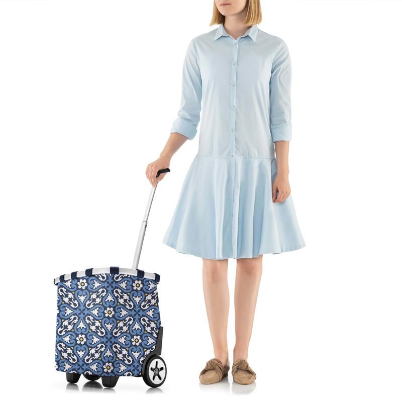 Reisenthel Indkøbsvogn Carry Cruiser Blå/mønster 7
