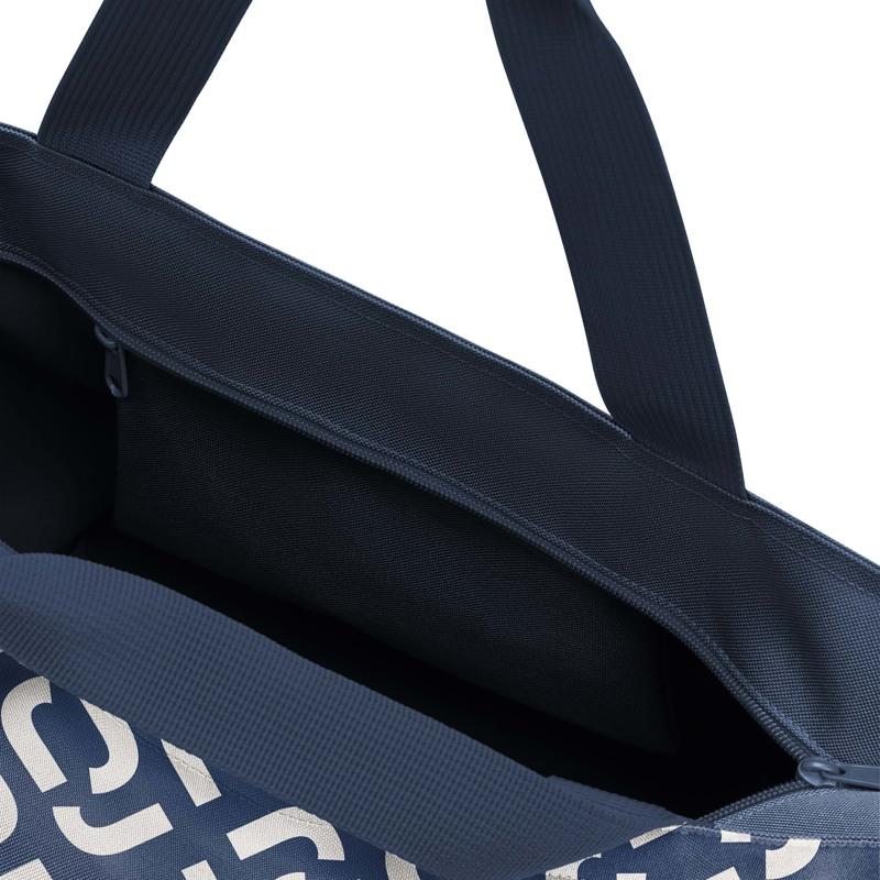 Reisenthel Shopper M Blå/hvid 2