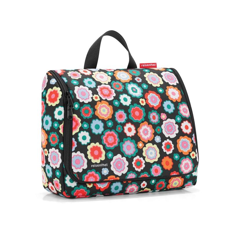 Reisenthel Toilettaske Toiletbag XL Sort/med blomster 1