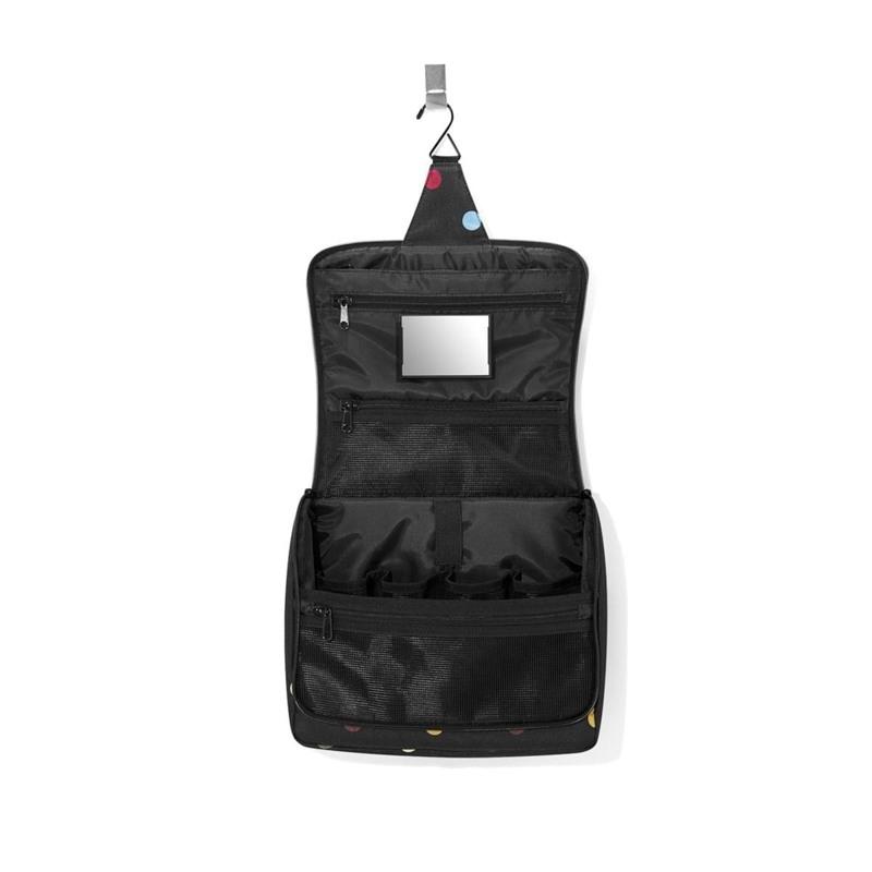 Reisenthel Toilettaske Toiletbag XL Sort/prikker 2