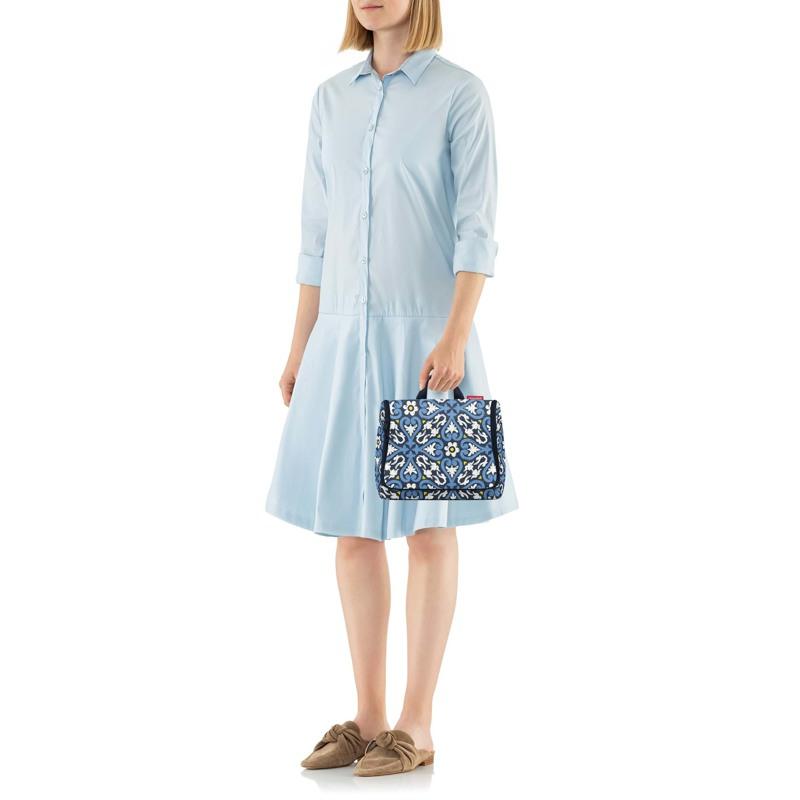 Reisenthel Toilettaske Toiletbag XL Blå/mønster 4