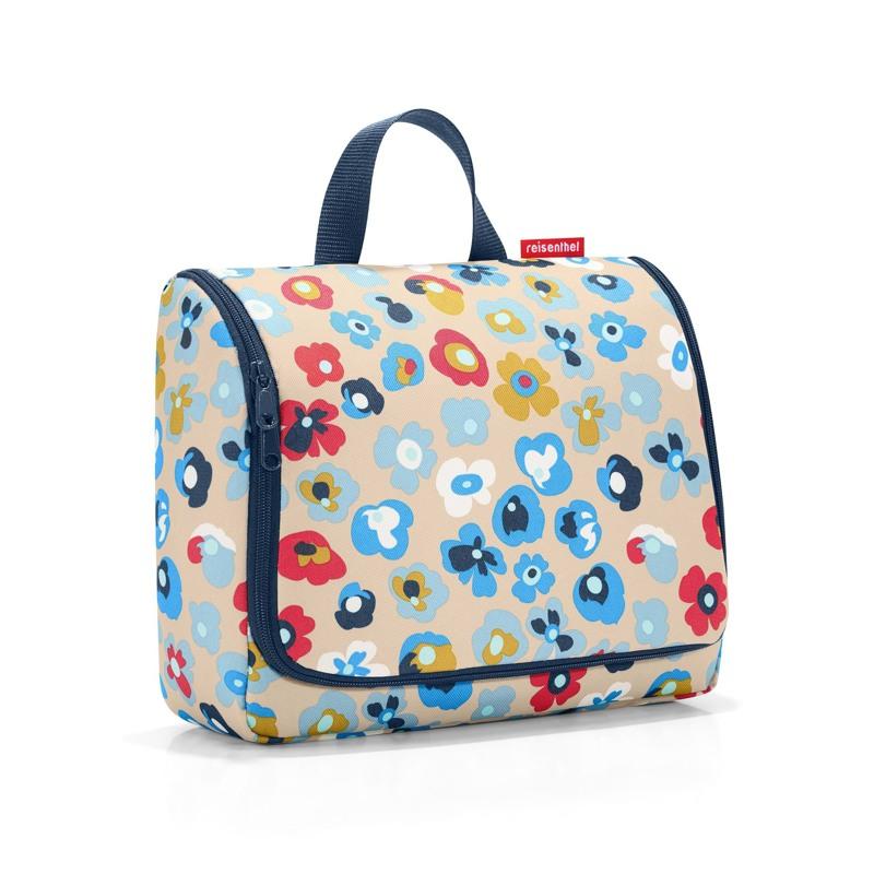 Reisenthel Toilettaske Toiletbag XL Natur m/blomst 1
