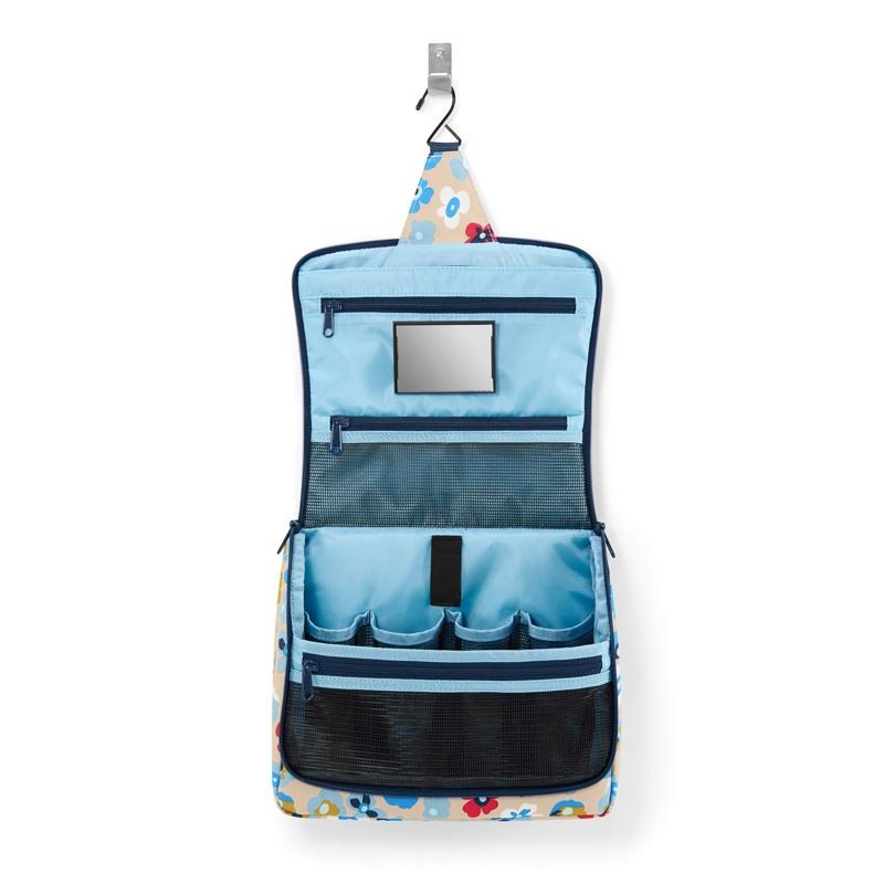 Reisenthel Toilettaske Toiletbag XL Natur m/blomst 2