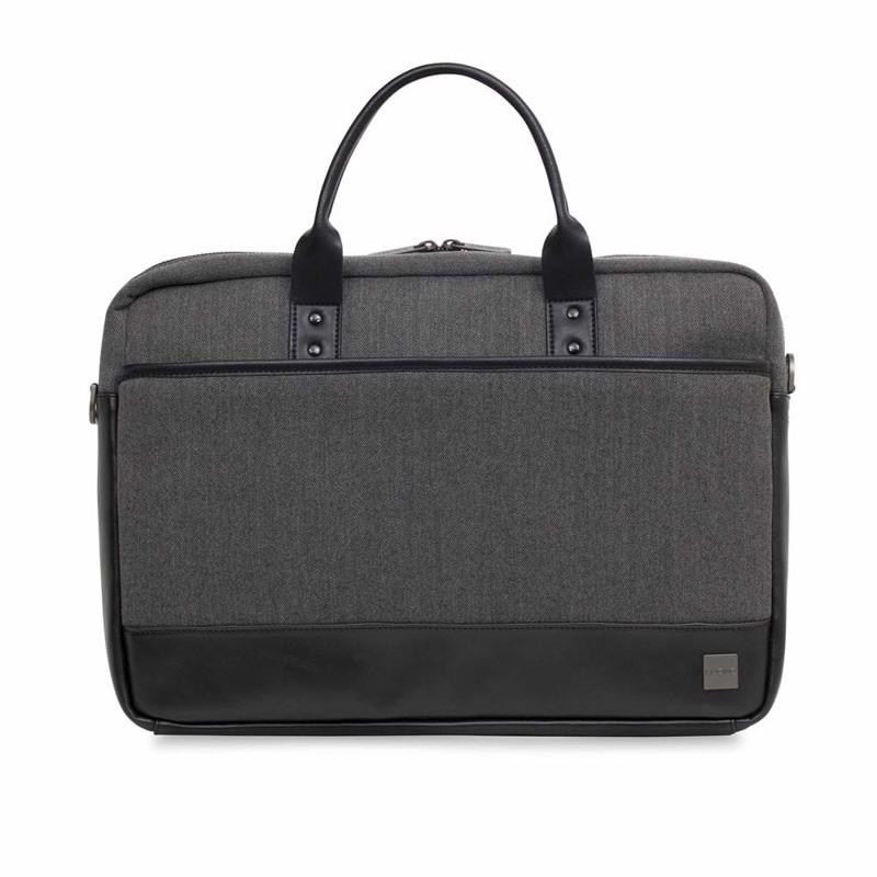 Knomo Laptop Brief Princton 15,6 Sort/Grå 1