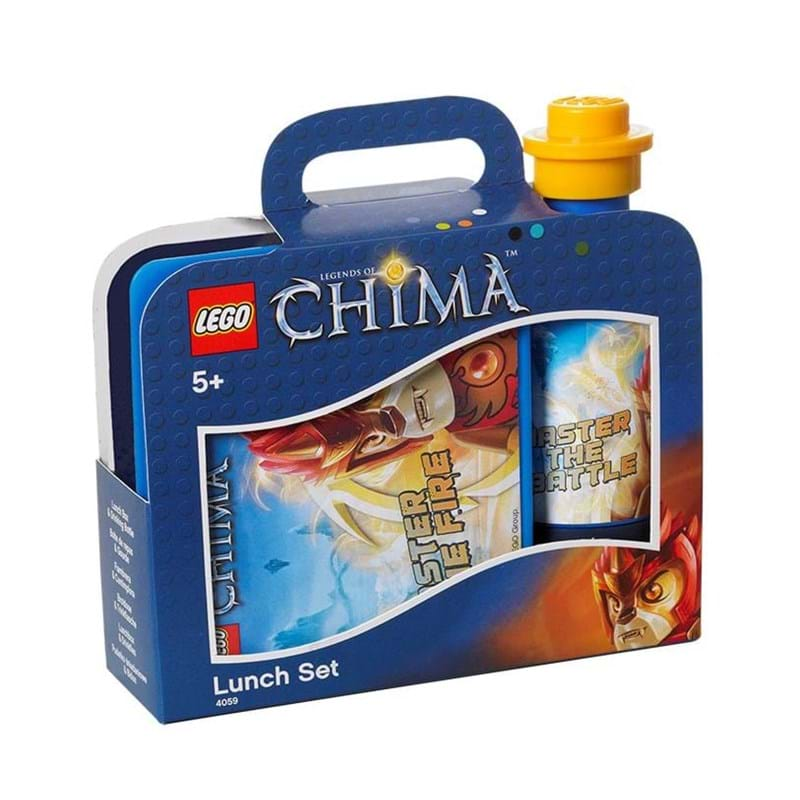 LEGO Madkassesæt Chima Fire&Ice Blå 1