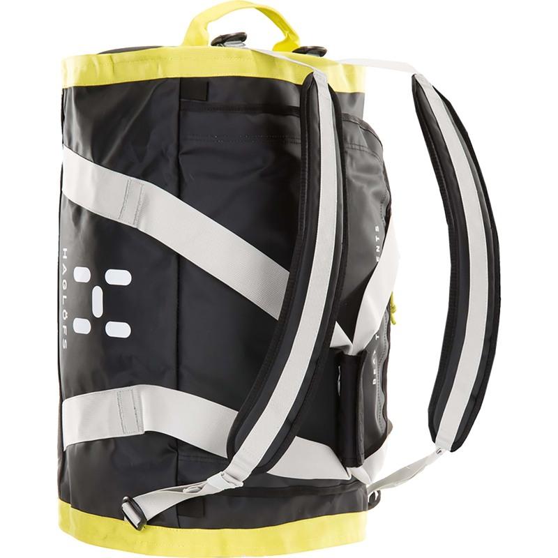 Haglöfs Duffel Bag Lava 90 Sort/Gul 3